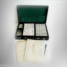 Mah Jong vintage game set with black case FREE SHIPPING