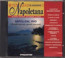 La canzone Napoletana - MASSIMO RANIERI - Napoli dal vivo - CD 1994 NEAR MINT