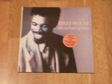 Billy Ocean – The Colour Of Love LP 4 TRACKS GREEK PRESSING RARE
