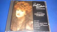 Geraldine Turner Stephen Sondheim Songbook RAR! Neu