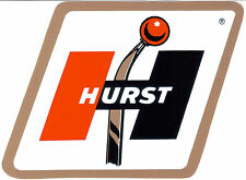 Retro Hurst shifter logo sticker / decal - drag racing hot rod vintage