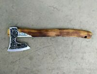 BEARDED AXE HUNTING HATCHET WOODWORKING CAMPING HIKING BUSHCRAFT TOOL