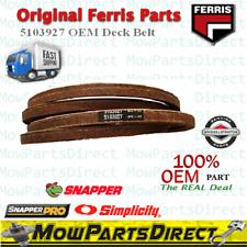 FERRIS Snapper Pro Simplicity Original OEM Deck Belt 5103927 Not Aftermarket