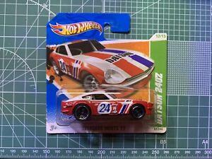 HOTWHEELS DATSUN 240Z TREASURE HUNT SHORT CARD VHTF RARE NISSAN