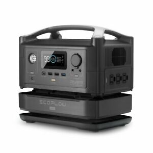 EcoFlow RIVER 600 + Extra Battery Bundle 3 x 600W AC OUTLETS AND 288Wh CAPACITY