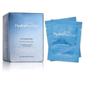 Hydropeptide 5X Power Peel Daily Resurfacing Pads 0.05 oz / 14 ml 30ct