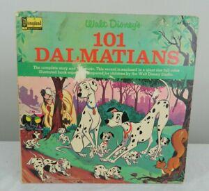 1965 Walt Disney Disneyland 101 Dalmatians Story Songs 33RPM Record ST-3934 USA