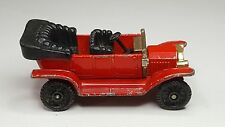 Vintage Tomica Tomy Pocket Car Type-T Ford Convertible F11-1 - Red Made in Japan