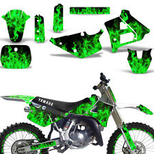 Graphic Kit Backgrounds Rim Trim Yamaha YZ 125 Dirt Bike Decal YZ125 91-92 ICE G