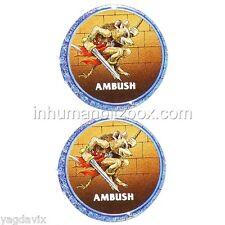 AHC28 PION AMBUSH COUNTER x2 ADVANCED HEROQUEST WARHAMMER BITZ