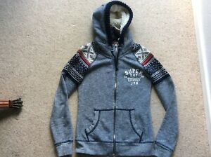 Ladies Superdry Hoodie, XS, Blue