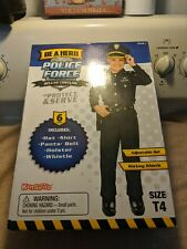 Kangaroo Police Force Deluxe Costume T4 6 Pc