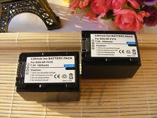 2x NP-FV70 NP-FV100  Battery for Sony DCR-SX33 DCR-SX45 DCR-SX65 SX85 SR88 SR20
