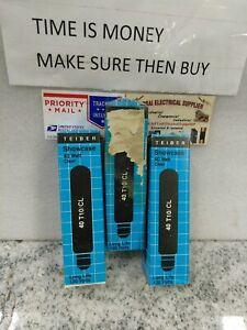 (3 Pack) TEIBER Tubular Incandescent Bulbs 40T10/CL 130V 40W T10 EDISON (#9CB2