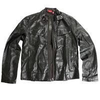 Puma Ducati Jacke Lederjacke Bickerjacke Herren Leder Leather Jacket Gr. M-L-XL