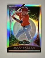 2020 Chronicles Titan Holo #21 Trea Turner - Washington Nationals