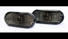 VW Golf Jetta MK4 4 Passat B5 B5.5 Smoke Black Side Marker Lights Turn Signals