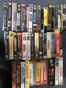 Lotto 42 Videocassette VHS Originali. Titoli Cult !!!
