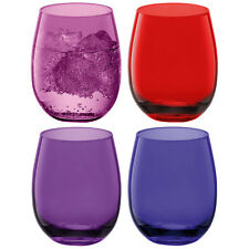LSA Coro Water/Wine Tumbler - Berry assorted - Set of 4