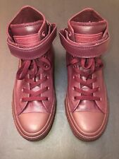 Maroon High Top Leather Converse Sz 7.5