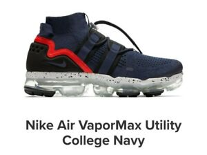 🔶NIKE AIR VAPORMAX UTILITY COLLEGE NAVY US 11.5 SNEAKER BOOT 2017