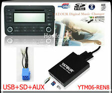 Yatour Digital CD changer for Renault Siemens VDO Dayton 8 pins SD USB Adapter