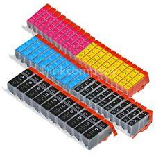 50 CANON Tintenpatronen + Chip PGI-520 CLI-521 MP 540 MP 550 MP 560 MX 860 NEU