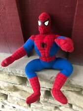 """2002 Kellytoy Marvel Spiderman 16"""" Plush Soft STUFFED TOY (S13)"""