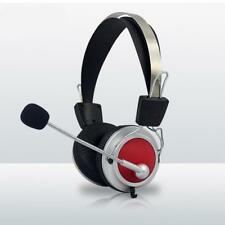 Gaming Headset Stereo Surround Headphones Headband Microphone Bass Earphones
