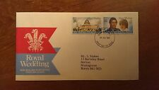 New Zealand official FDC wedding Prince of Wales & Diana 29.7.81