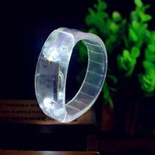 Fashion Voice Controlled LED Light Up Cuff Bracelet Flash Bangle Wristband Toys