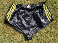 Vintage ADIDAS Nylon Sprinter Shiny Shorts Glanz Football Swim Retro Running MED