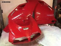 DUCATI  996  998  ALL YEAR  TOP COWL AND LOWERS  FIBER GLASS  LOT43  43D2558