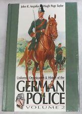 BENDER WW2 BOOK Uniforms Organization History of German Police Vol.2 Angolia NEW