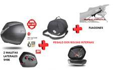 KIT SHAD fijacion 3P + maletas laterales SH36 + bolsas HONDA NC700 X/S (12-13)