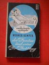 Werner Kemper - der Traum und seine Be-Deutung - Rowohlts deutsche Enzyklopädie