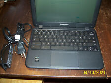 Lenovo Chromebook N21 (16GB, Intel Celeron, 2.16GHz, 4GB) Netbook - Black
