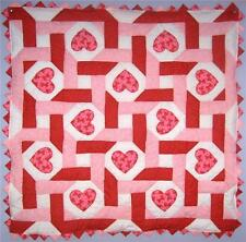 Hearts Intertwined Valentine Baby Quilt Kit* w/ Pattern