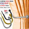 MODERN LARGE STYLISH CURTAIN HOLD BACK Metal Tie Tassel Arm Holder Hook Loop UK