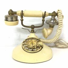 Vintage Cream Rotary Phone Japan Radio Shack Model No: 43-326 #327