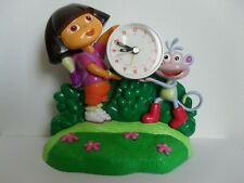Dora The Explorer And Boots Singing Alarm Clock - 2003 Billy Straus