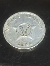 5 centavos caribeños 1966