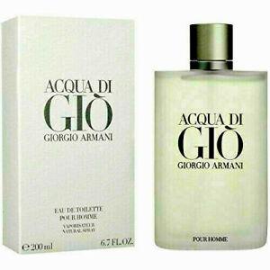 ACQUA DI GIO by Giorgio Armani EDT Spray 6.7 oz 200 mL Brand NEW Box SEALED
