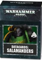 Games Workshop Warhammer 40K Salamanders Datacards 53-50-60