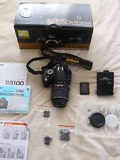 Nikon D3100 14.2MP Digital SLR Camera - Black (Kit w/ VR 18-55mm Lens)