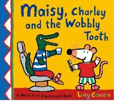 LUCY COUSINS __ MAISY, CHARLEY AND THE WOBBLY TOOTH __ BRAND NEW __ FREEPOST UK