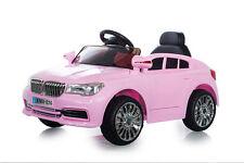 Pink 12V X5 saloon, suspension, RC, Kids' électrique monter sur voiture