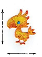 Chocobo Final Fantasy - BRAND NEW - Cute Embroidered Patch XV VII 15 7