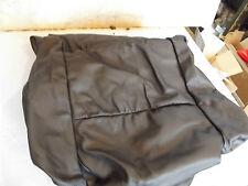 original OPEL Astra G Zafira A Lederbezug Sitzfläche rechts schwarz 7256570 NEU