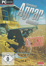 PC DVD-ROM + International Agrar Simulator + Landwirtschaft + Ackerbau + Win 8